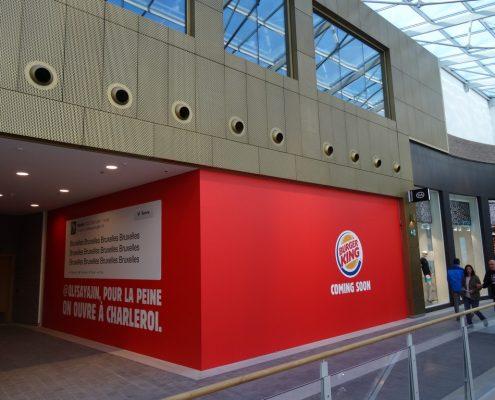 Burger King Rive gauche palissade
